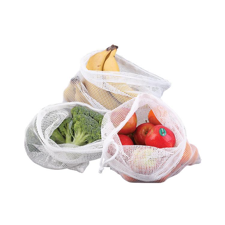 Appetito Woven Net Produce Bags 3pc