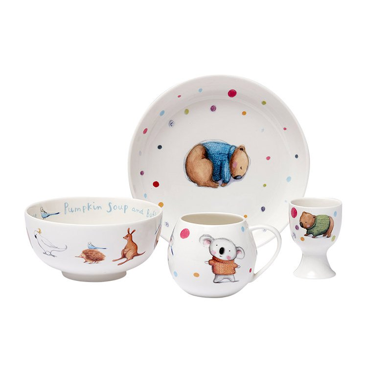 Ashdene Barney Gumnut & Friends Kids Set