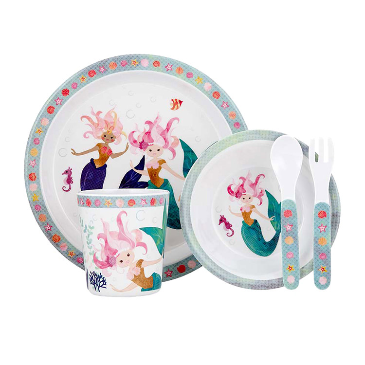 Ashdene Mermaids Dinner Set 5pc
