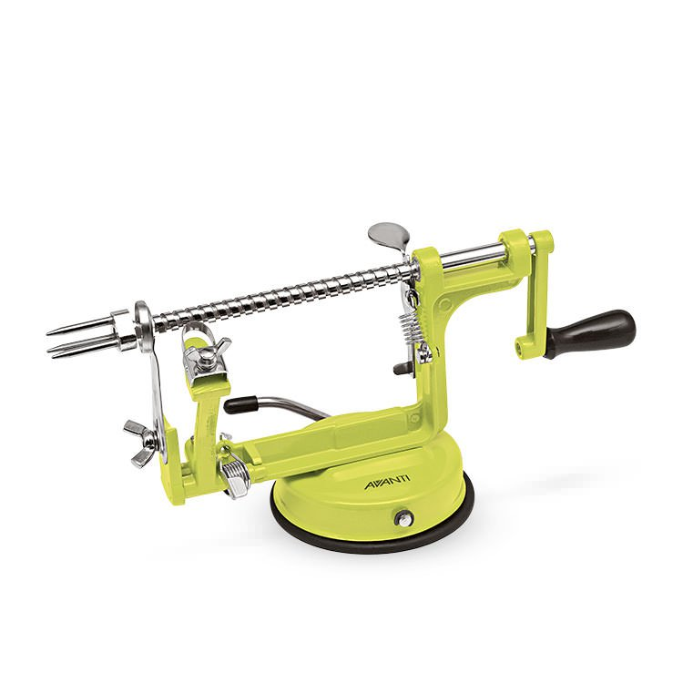 Avanti Apple Peeler Corer & Slicer Green