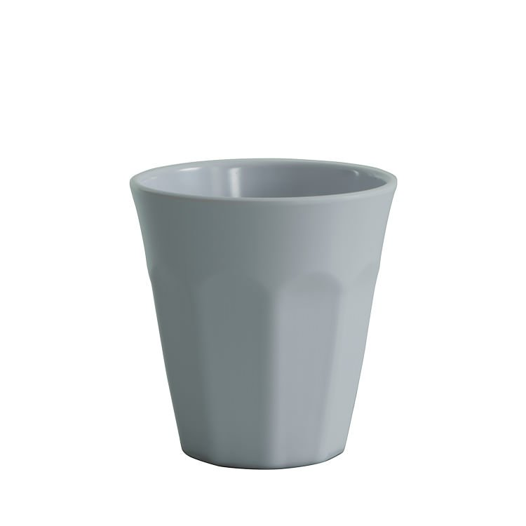 Avanti Cafe Melamine Single Tone Cup White 275ml