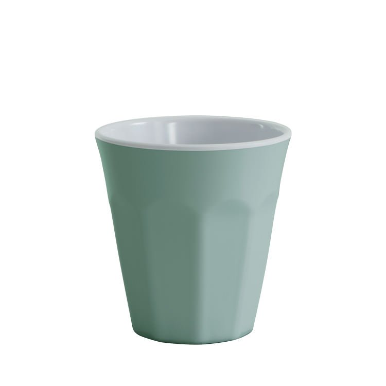 Avanti Cafe Melamine Two Tone Cup Duck Egg Blue 275ml