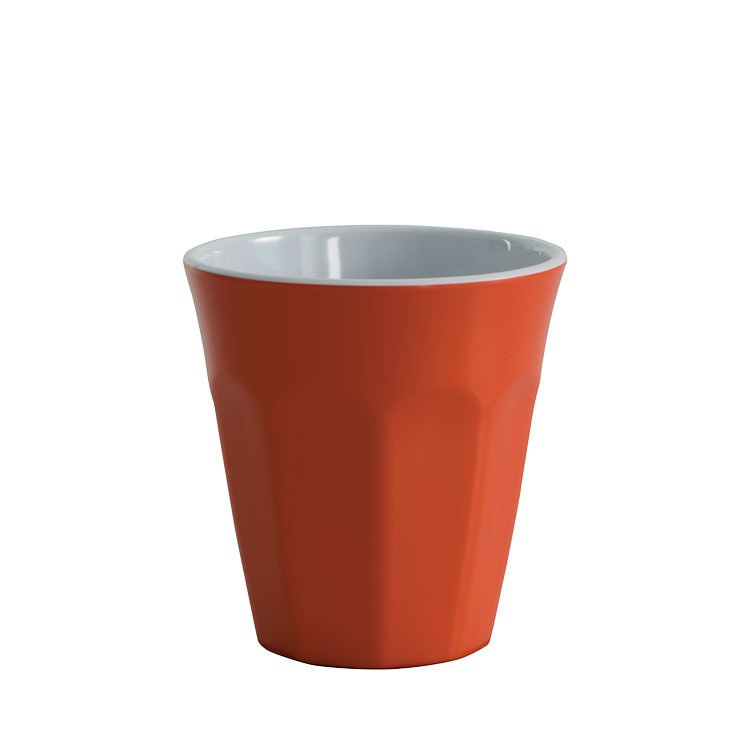 Avanti Cafe Melamine Two Tone Cup Orange 275ml