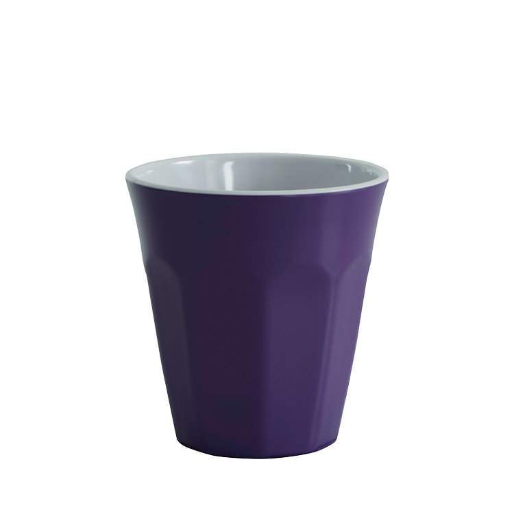 Avanti Cafe Melamine Two Tone Cup Purple 275ml