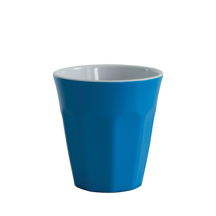Avanti Cafe Melamine Two Tone Cup Reflex Blue 275ml