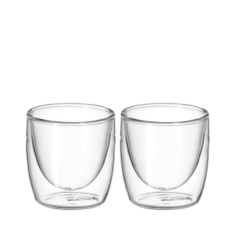 Avanti Cafe Twin Wall Glass 100ml Set of 2