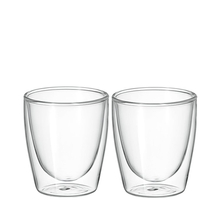 Avanti Cafe Twin Wall Glass 150ml Set of 2