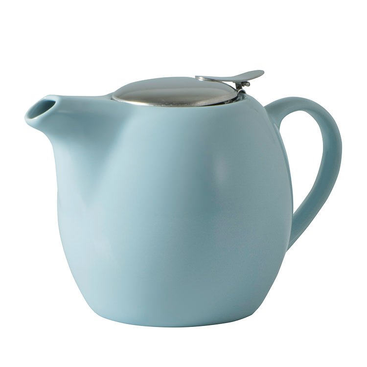 Avanti Camelia Ceramic Teapot 750ml Duck Egg Blue