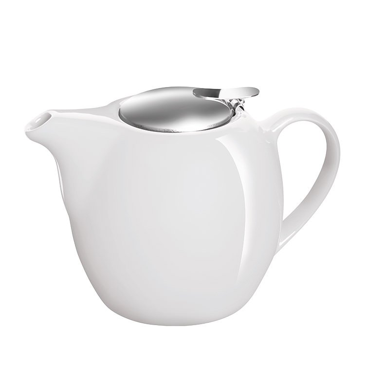 Avanti Camelia Ceramic Teapot 750ml Pure White