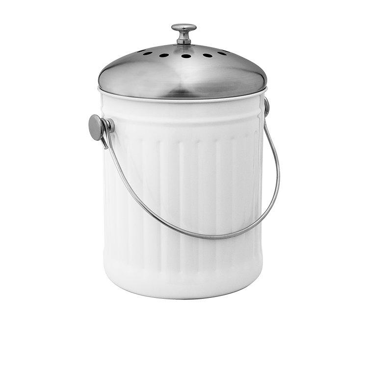 Avanti Compost Bin 5L White
