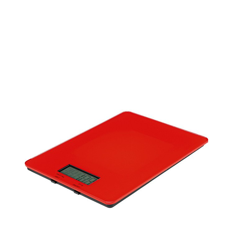 Avanti Digital Kitchen Scales 5kg Red