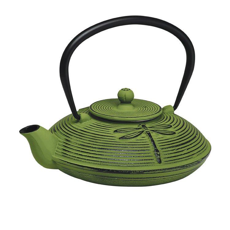 Avanti Dragonfly Cast Iron Teapot Green 770ml