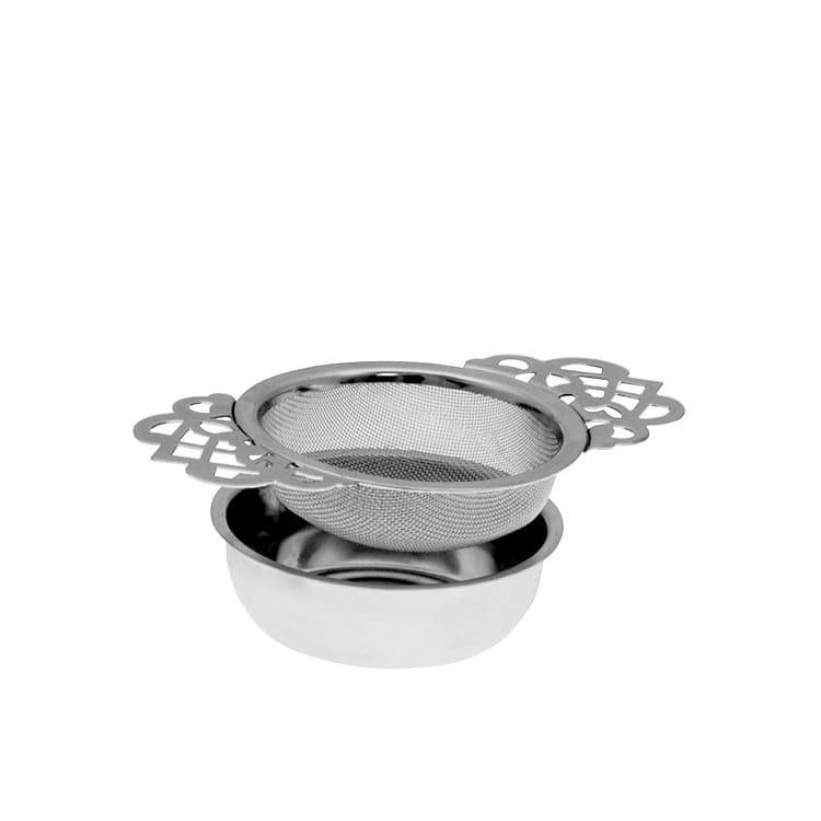 Avanti Empress Tea Strainer with Drip Tray