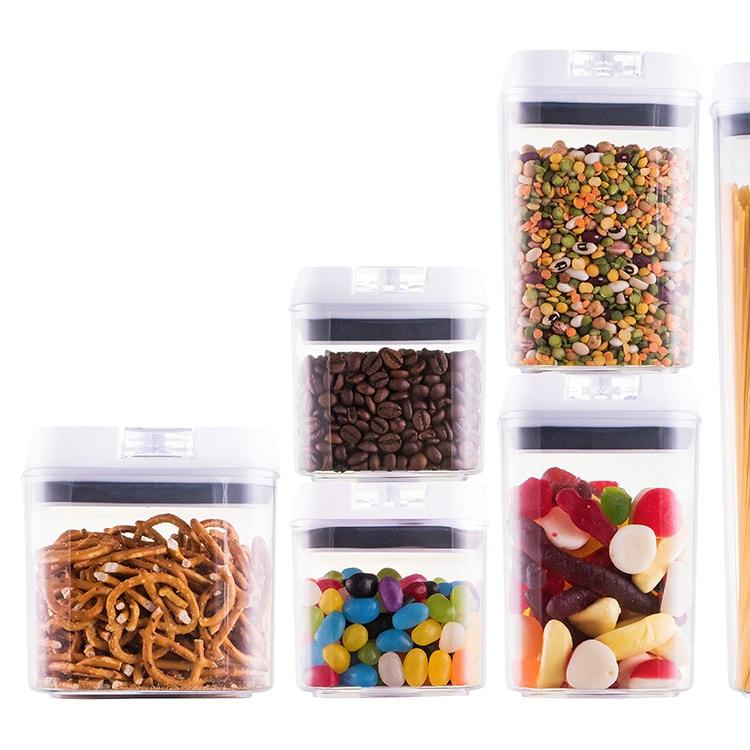 Avanti Flip Top Storage Container Set of 10