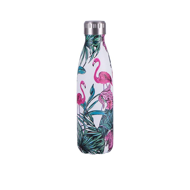 Avanti Insulated Drink Bottle 750ml Flamingo