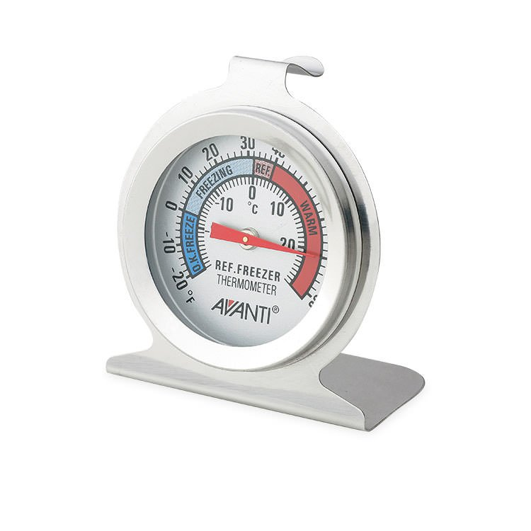 Avanti Fridge/ Freezer Thermometer