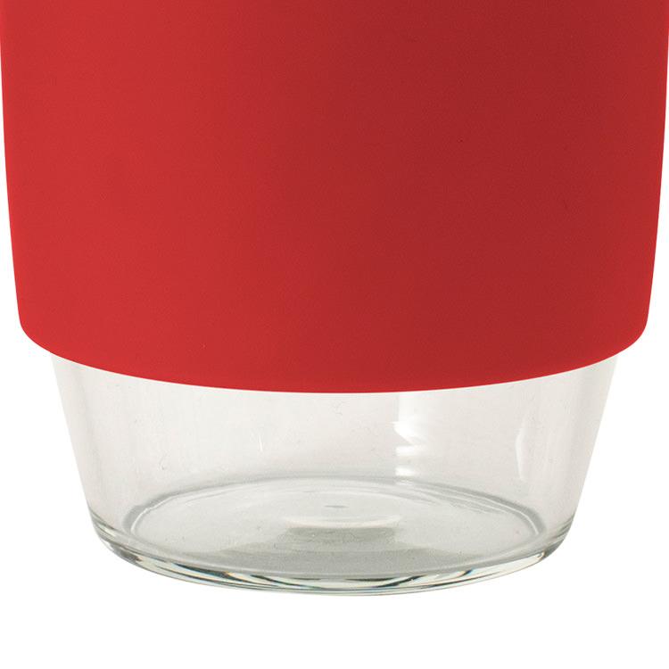 Avanti Go Cup Glass 355ml Red/Aqua/Grey image #3