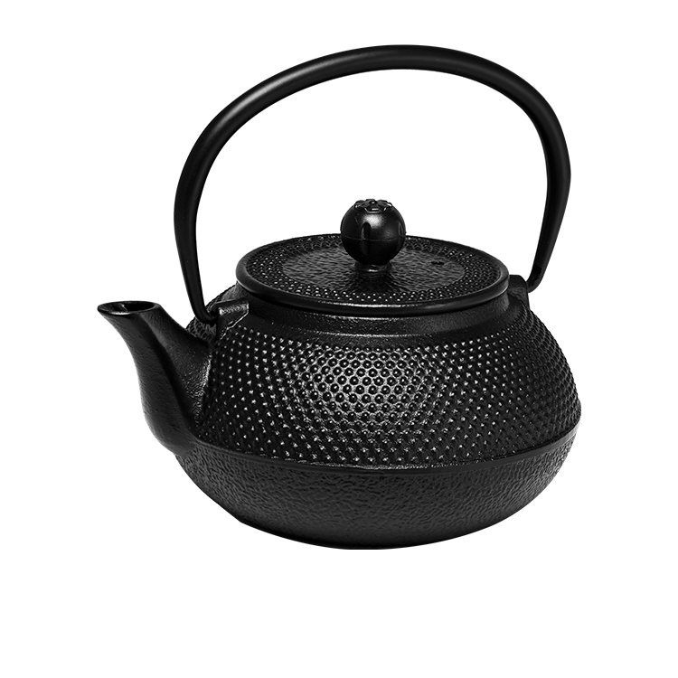 Avanti Hobnail Cast Iron Teapot Black 600ml
