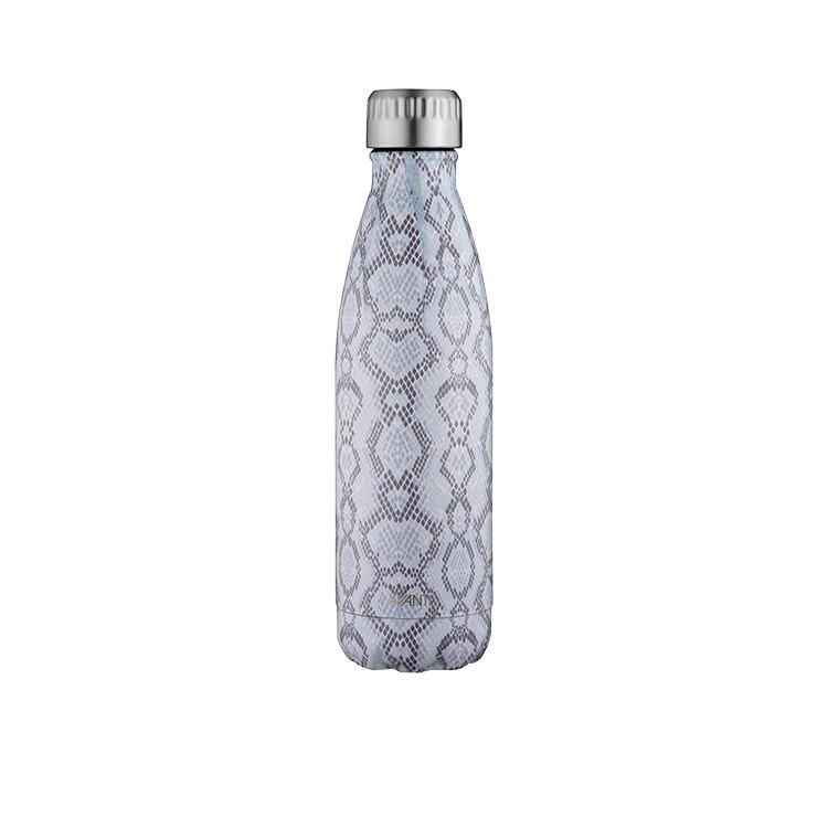 Avanti Insulated Drink Bottle 500ml Blue Python