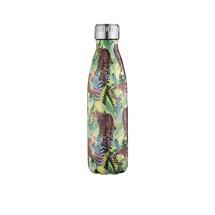 Avanti Insulated Drink Bottle 500ml Tropic Leopard
