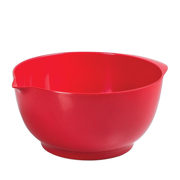 Avanti Melamine Mixing Bowl 3.5L Red