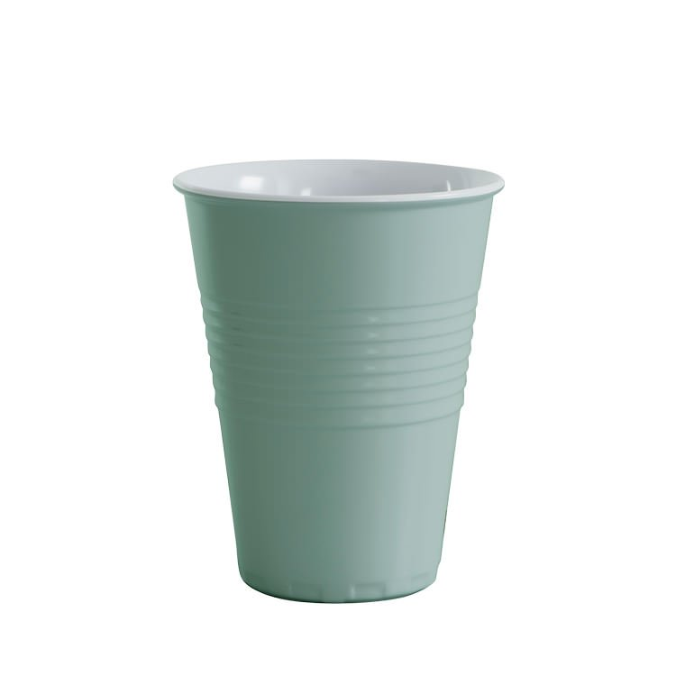 Avanti Miami Melamine Two Tone Cup Duck Egg Blue 400ml