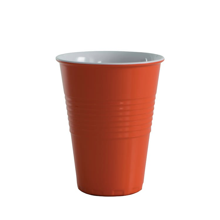Avanti Miami Melamine Two Tone Cup Orange 400ml