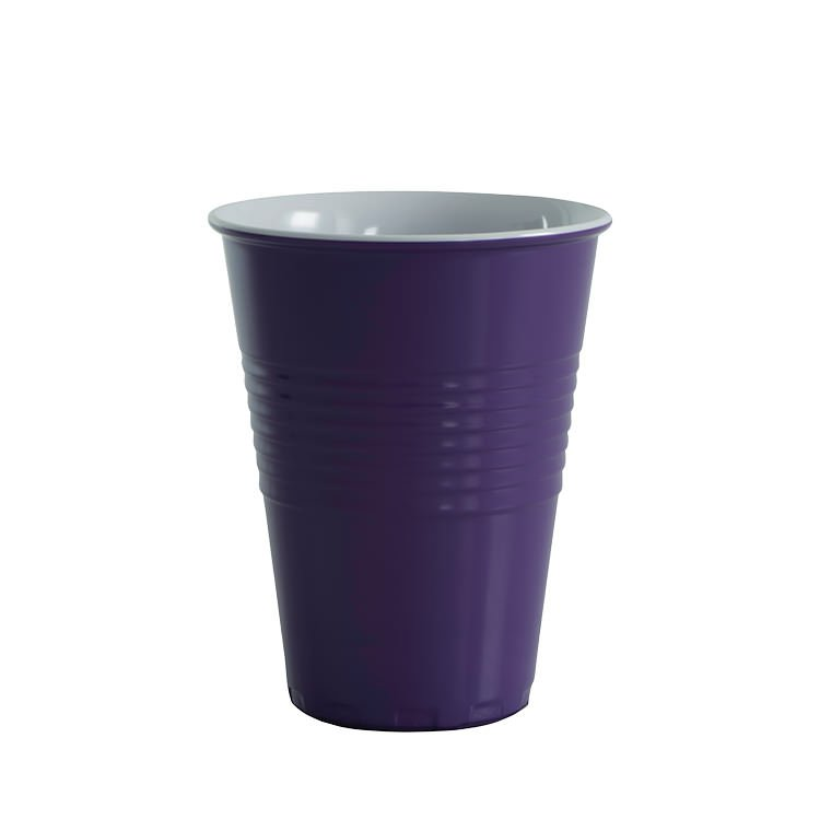 Avanti Miami Melamine Two Tone Cup Purple 400ml