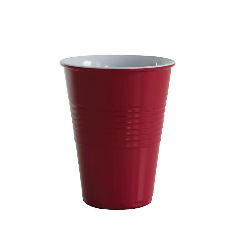 Avanti Miami Melamine Two Tone Cup Red 400ml