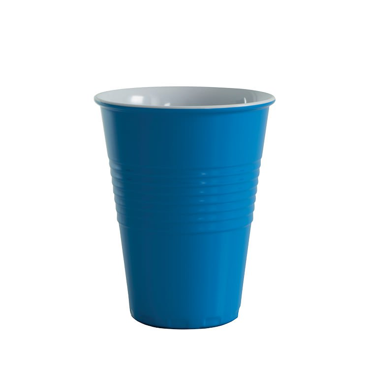 Avanti Miami Melamine Two Tone Cup Reflex Blue 400ml