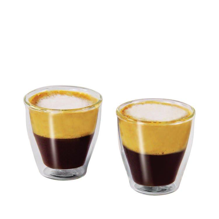 Avanti modena twin wall glass 100ml set of 2 fast shipping for Kitchen set modena