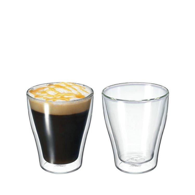 Avanti modena twin wall glass 250ml set of 2 fast shipping for Kitchen set modena