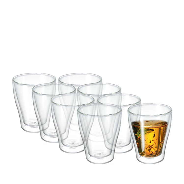 Avanti modena twin wall glass 250ml set of 8 on sale now for Kitchen set modena