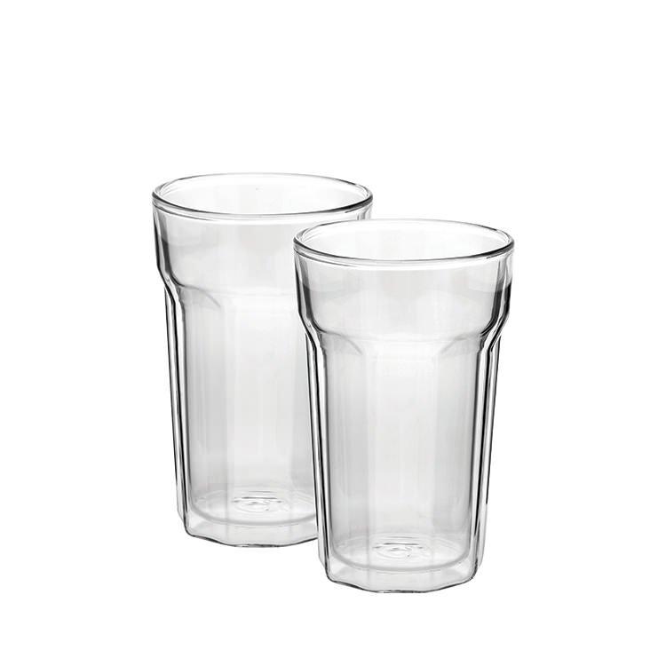 Avanti Nove Twin Wall Glass 375ml Set of 2