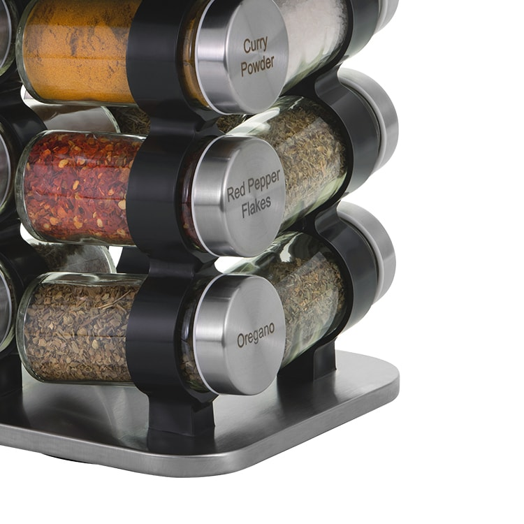 Avanti Rotating Spice Rack 12 Jar Set