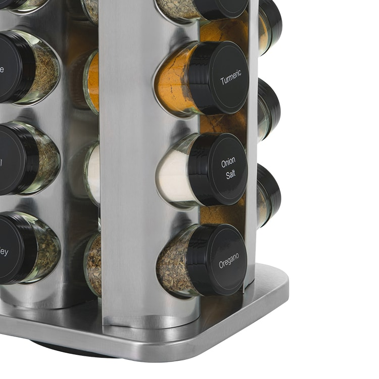 Avanti Rotating Spice Rack 16 Jar Set