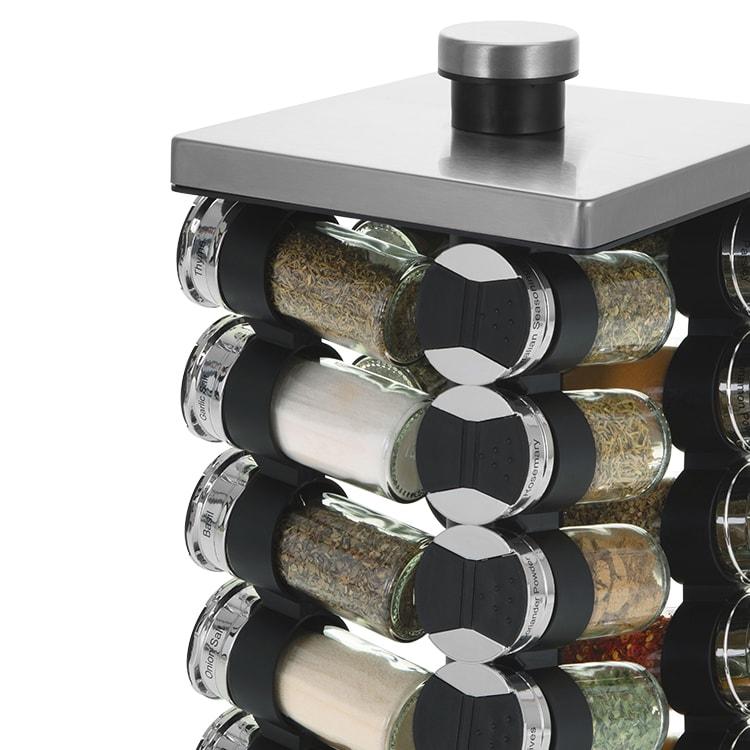 Avanti Rotating Spice Rack 20 Jar Set image #2