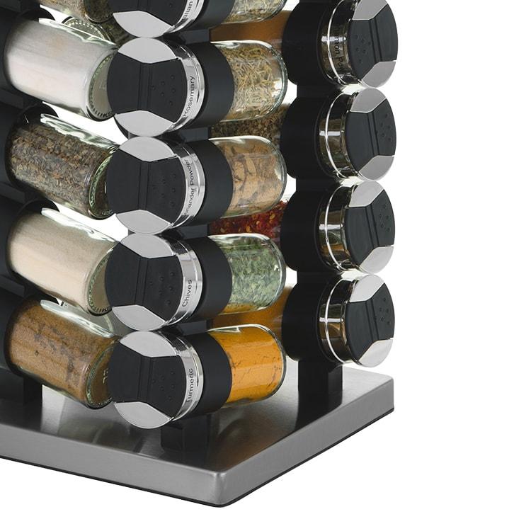 Avanti Rotating Spice Rack 20 Jar Set image #3