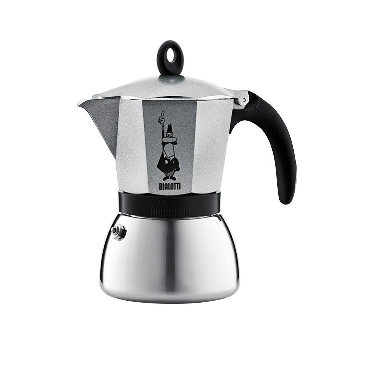 Bialetti Moka Induction Espresso Maker 6 Cup