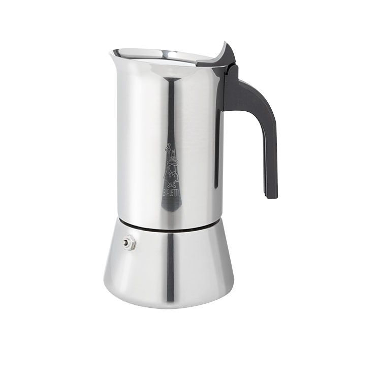 Bialetti Venus Stainless Steel Induction Espresso Maker 6 Cup