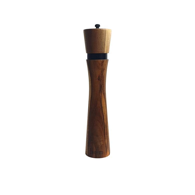 Bialetti Wooden Salt & Pepper Grinder 25cm