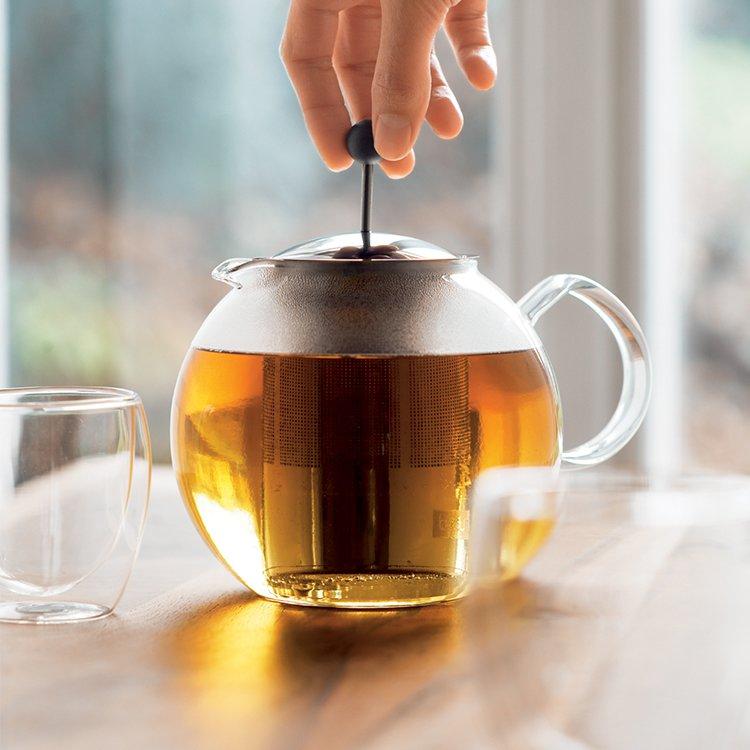 Bodum Assam Tea Press 1L w/ Stainless Steel Filter