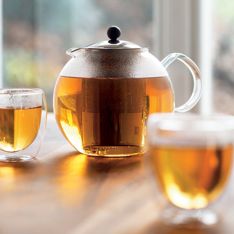 Bodum Assam Tea Press 1L w/ Stainless Steel Filter image #5