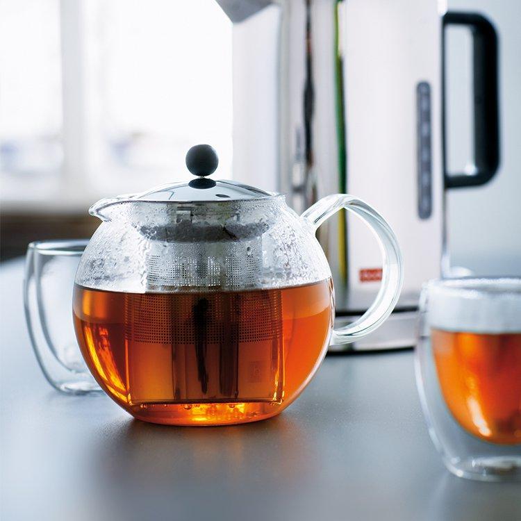 Bodum Assam Tea Press 1L w/ Stainless Steel Filter image #6