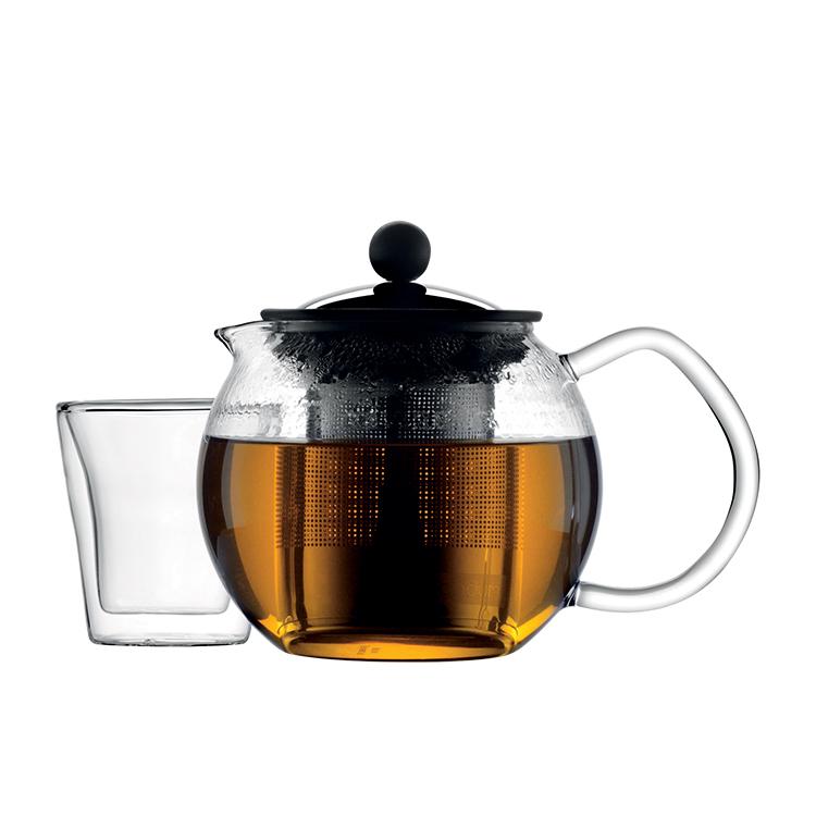 Bodum Assam Tea Press 500ml w/ Stainless Steel Filter