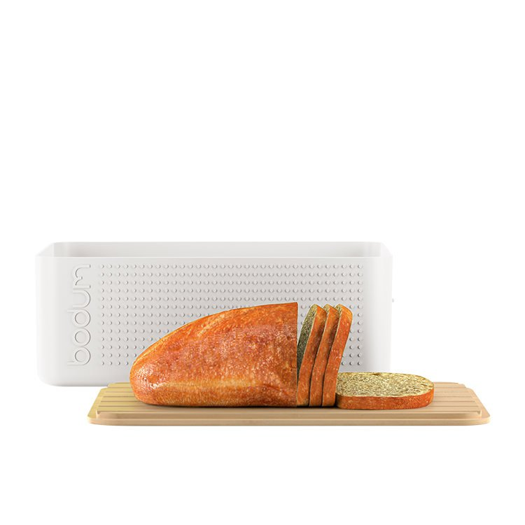 Bodum Bistro Bread Box Ivory