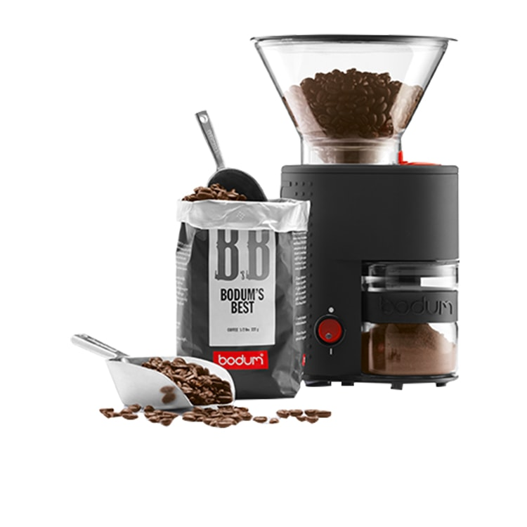 Bodum Bistro Burr Coffee Grinder Black
