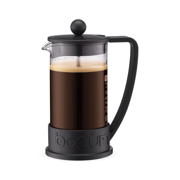 Bodum Brazil Coffee Press 3 Cup Black