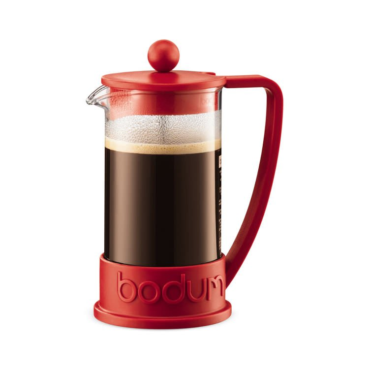 Bodum Brazil Coffee Press 3 Cup Red