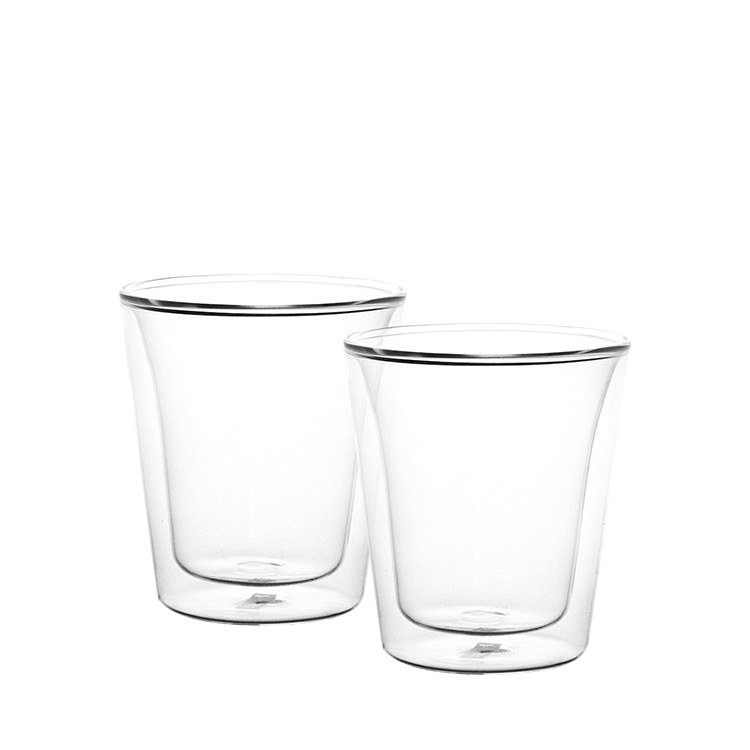 Bodum Canteen 2pc Double Wall Glasses 100ml